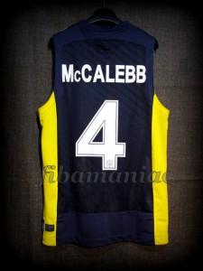 2013/2014 Euroleague Bo McCalebb Jersey - Back