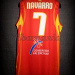 2006 World Cup Champions Spain Juan Carlos Navarro Jersey Back – Signed