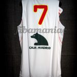 2010 World Cup Spain Juan Carlos Navarro Jersey - Back