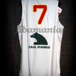 2010 World Cup Spain Juan Carlos Navarro Jersey - Back