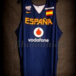 2013 Eurobasket Spain Training Jersey Reverse Front - MW and signed by team