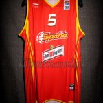 2007 Eurobasket Spain Rudy Fernández Jersey Front - Signed