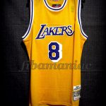 1996/1997 50th NBA Anniversary & Rookie Season Los Angeles Lakers Kobe Bryant Jersey - Front