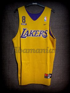 1998/2000 NBA Los Angeles Lakers Kobe Bryant Practice Jersey - Front
