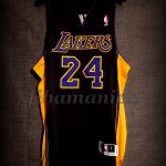 "2013/2014 ""Hollywood Nights"" Los Angeles Lakers Kobe Bryant Jersey - Front"