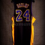 "2013/2014 ""Hollywood Nights"" Los Angeles Lakers Kobe Bryant Jersey - Back"