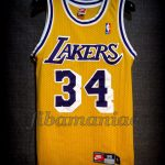 1996/1999 Los Angeles Lakers Shaquille O'Neal Jersey - Front