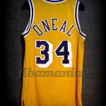 1996/1999 Los Angeles Lakers Shaquille O'Neal Jersey - Back