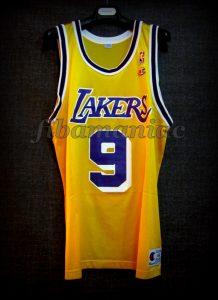 1998 NBA All Star Los Angeles Lakers Nick Van Exel Jersey - Front