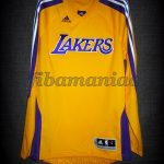 2010 NBA Europe Games Los Angeles Lakers Warm Up – Front