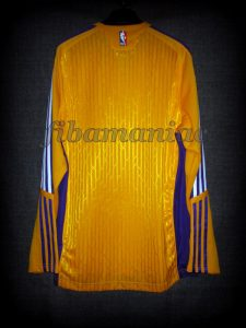 2010 NBA Europe Games Los Angeles Lakers Warm Up – Back