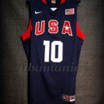 Beijing 2008 Olympic Games USA Basketball Kobe Bryant Jersey - Front
