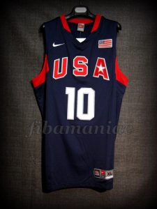Beijing 2008 Olympic Games USA Basketball Kobe Bryant Jersey - Front