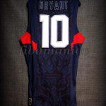 Beijing 2008 Olympic Games USA Basketball Kobe Bryant Jersey - Back