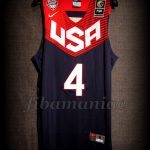 Spain 2014 World Cup USA Basketball Stephen Curry Jersey - Front