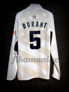 London 2012 Olympic Games USA Basketball Kevin Durant Warm Up – Back