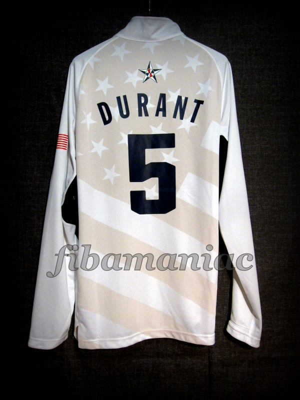 52f71dcc9a94 London 2012 Olympic Games USA Basketball Kevin Durant Warm Up – Back