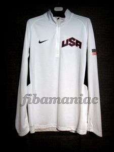 London 2012 Olympic Games USA Basketball Kevin Durant Warm Up – Front