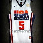 Chuck Daly Tribute Barcelona 2012 Pre-Olympic USA Basketball Kevin Durant Retro Jersey - Front