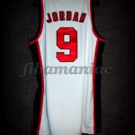 Los Angeles 1984 Olympic Games USA Basketball Michael Jordan Jersey  - Back