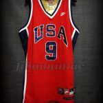 Los Angeles 1984 Olympic Games USA Basketball Michael Jordan Alternative Jersey - Front