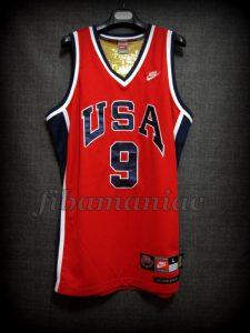 Los Angeles 1984 Olympic Games USA Basketball Michael Jordan Alternative Jersey - Front