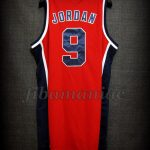 Los Angeles 1984 Olympic Games USA Basketball Michael Jordan Alternative Jersey - Back