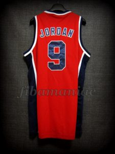 Los Angeles 1984 Olympic Games USA Basketball Michael Jordan Alternative Jersey - Back