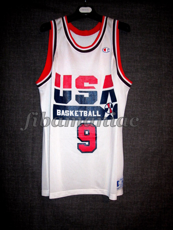 promo code 2377e d59ef Barcelona 1992 Olympic Games USA Basketball Michael Jordan ...