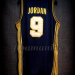 Barcelona 1992 Olympic Games USA Basketball Michael Jordan Dream Team Gold Limited Edition Jersey - Back