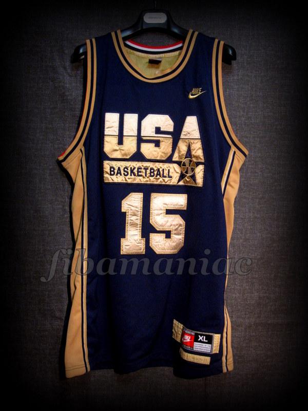 reputable site 96fae 40d69 Barcelona 1992 Olympic Games USA Basketball Magic Johnson ...