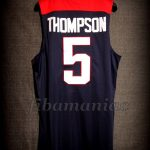 Spain 2014 World Cup USA Basketball Klay Thompson Jersey - Back