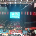 27.372 spectators. The assistance record in an european game