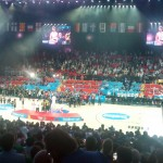 The french jeered to Pau Gasol even receiving the MVP trophy ... no comments. At least some spanish we shouted MVP, MVP, MVP!
