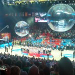 The trophy comes from the air