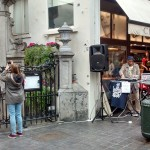Jazzy Jazz's double (in all senses) in Manneken Pis