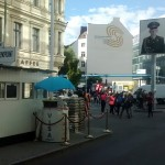 Not so famous but much more recommended: Checkpoint Charlie