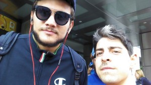 Ale Gentile. My bag was 110% full before the flight so I had to leave his jersey in home :(