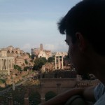Next stop Rome for eat, eat and eat! Also you can feel yourself Julio Cesar in this place of the Roman Forum.