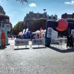 The Fan Zone in Lille