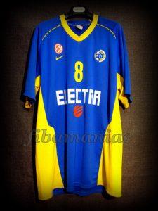 2011/2012 Euroleague Maccabi Tel Aviv Lior Eliyahu Warm Up Front - MW