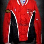 1996 NBA Finals Champions Chicago Bulls Jacket - Front
