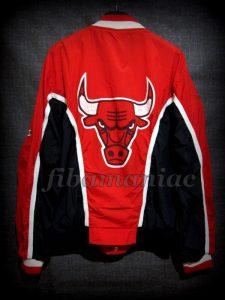 1996 NBA Finals Champions Chicago Bulls Jacket - Back