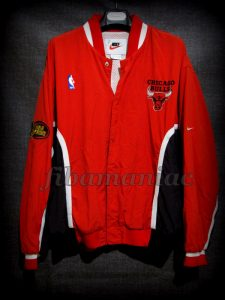 1998 NBA Finals Champions Chicago Bulls Jacket - Front