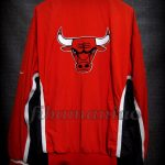 1998 NBA Finals Champions Chicago Bulls Jacket - Back