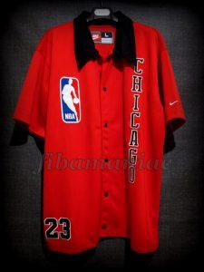 1986 NBA Playoffs Chicago Bulls Michael Jordan Warm Up - Front