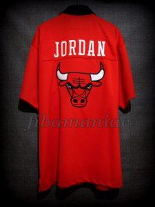 1986 NBA Playoffs Chicago Bulls Michael Jordan Warm Up - Back
