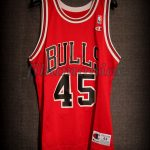 1995 Michael Jordan First Comeback Chicago Bulls Jersey - Front