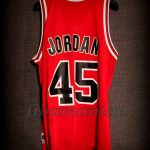 1995 Michael Jordan First Comeback Chicago Bulls Jersey - Back