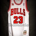 1998 NBA All Star MVP Chicago Bulls Michael Jordan Jersey - Front